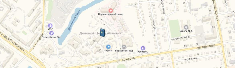Банкоматы и офисы ОАО «БайкалИнвестБанк» в Абакане