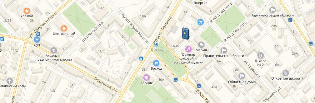 Банкоматы и офисы ОАО «БайкалИнвестБанк» в Магадане