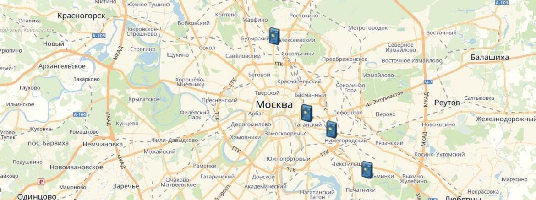 Банкоматы и офисы ОАО «БайкалИнвестБанк» в Москве