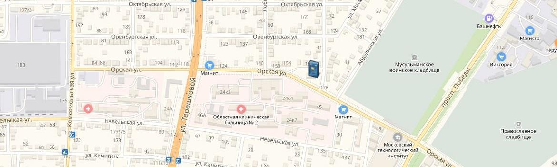 Банкоматы и офисы ОАО «БайкалИнвестБанк» в Оренбурге