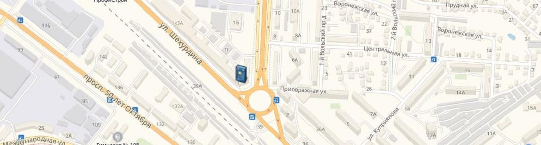 Банкоматы и офисы ОАО «БайкалИнвестБанк» в Саратове