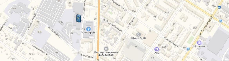 Банкоматы и офисы ОАО «БайкалИнвестБанк» в Чите