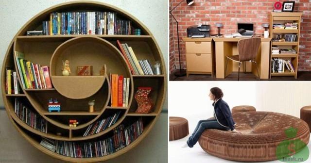 Картонная мебель - высокодоходный бизнес