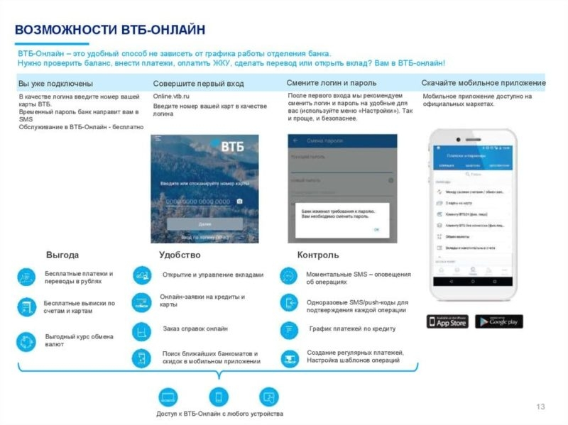 Как открыть вклад в ВТБ онлайн