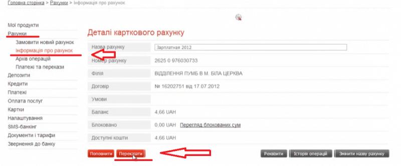 Как перевести деньги с карты ПУМБ на карту Приватбанка