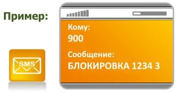 Как заблокировать карту Сбербанка через СМС