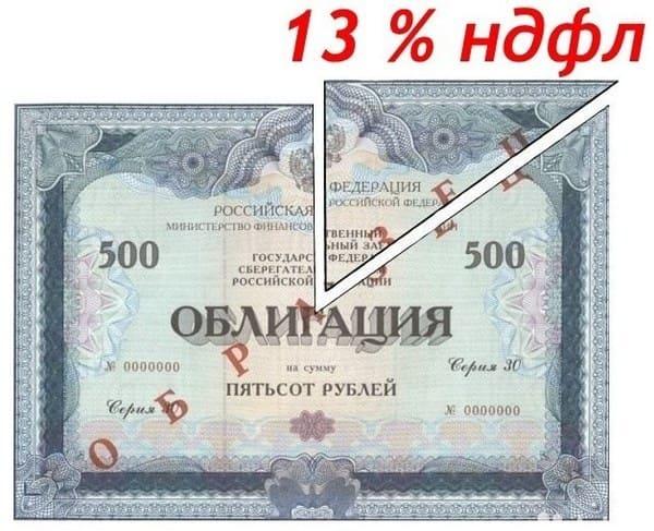 Налогообложение облигаций (ОФЗ) для физический лиц