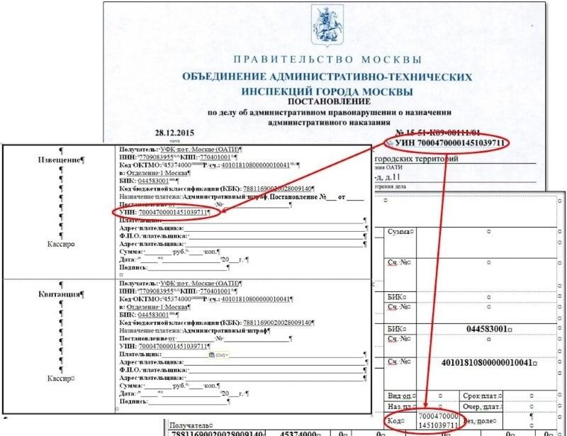 ИПГУ: расшифровка в квитанции Сбербанка