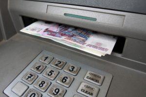 Как оплатить кредит Сбербанка через банкомат