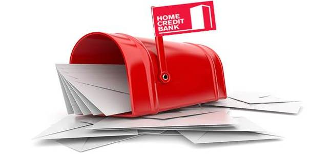 Как написать письмо на e-mail Хоум Кредит Банка