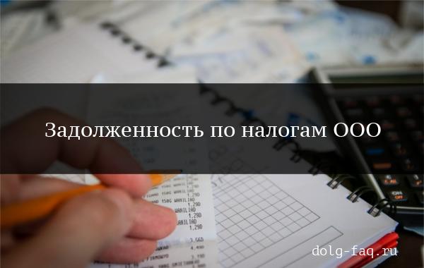 Задолженность по налогам по ООО - способы проверки, последствия и возможность продажи ООО с долгами