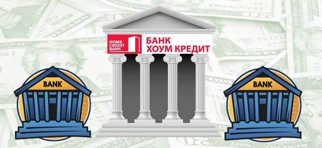 С какими банками сотрудничает Хоум Кредит