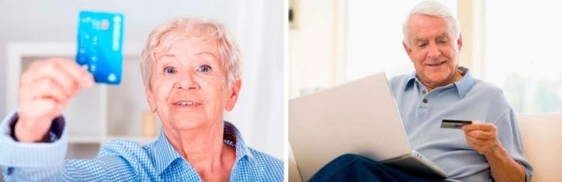 Кредитные карты для пенсионеров. Где получить, условия, виды