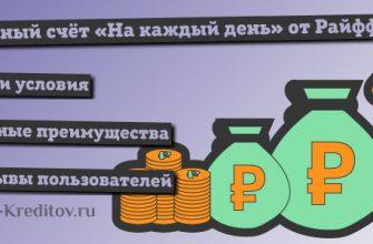 Накопительный счёт «На каждый день» от Райффайзенбанка – условия и отзывы
