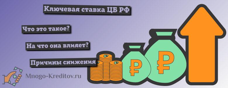 Ключевая ставка ЦБ РФ — что это такое простыми словами